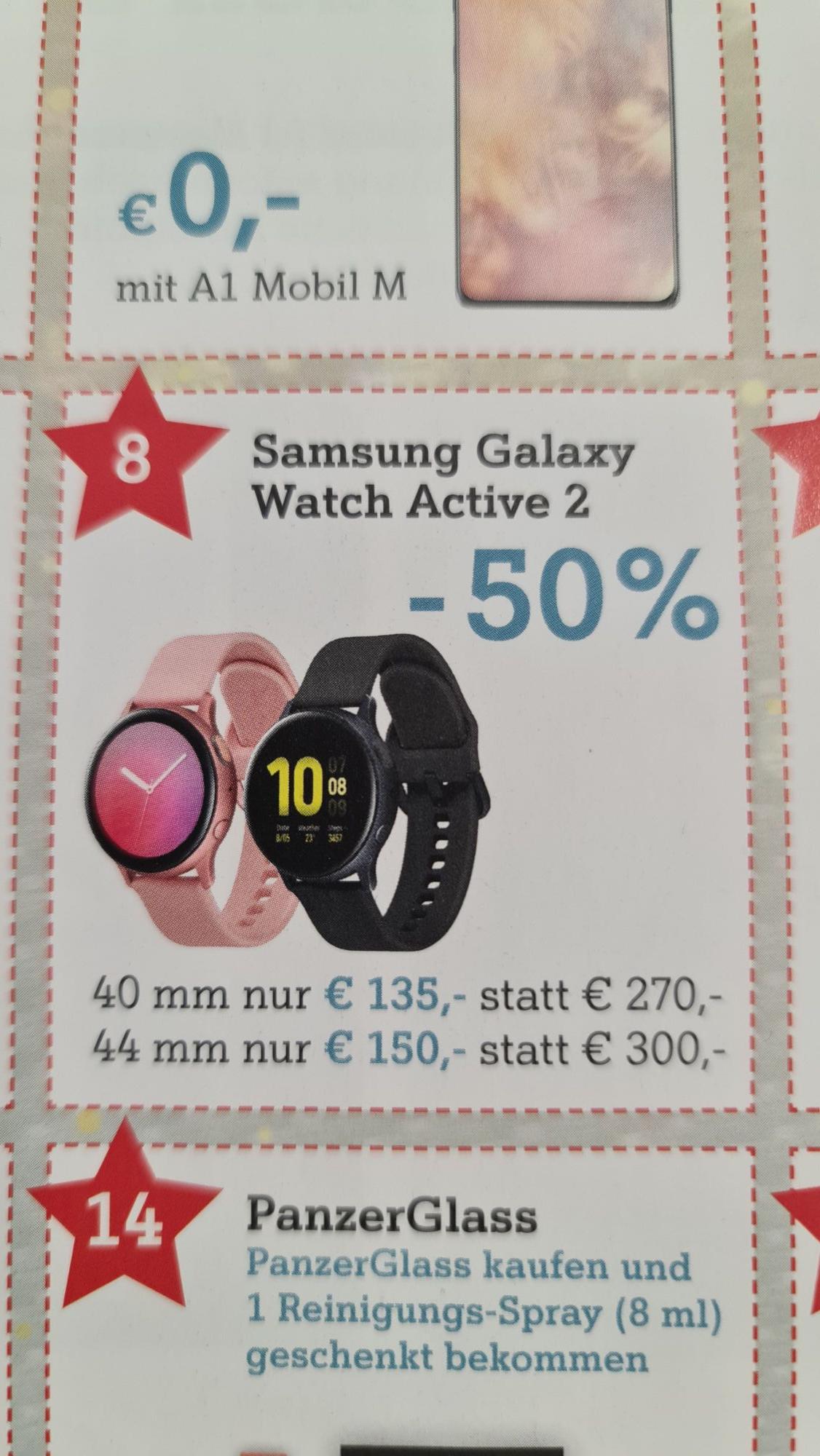Galaxy Watch Active 2 44m Bluetooth Version (A1 Adventkalender)