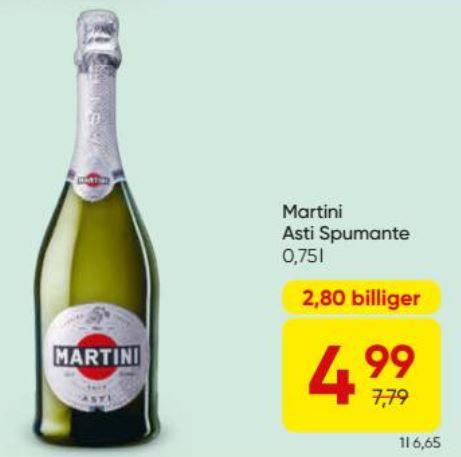 [Merkur] Martini Asti Spumante, 0,75l