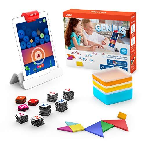 OSMO 901-00041 Genius Starter Kit inklusive 5 vielfältiger Lernwelten-für Kinder