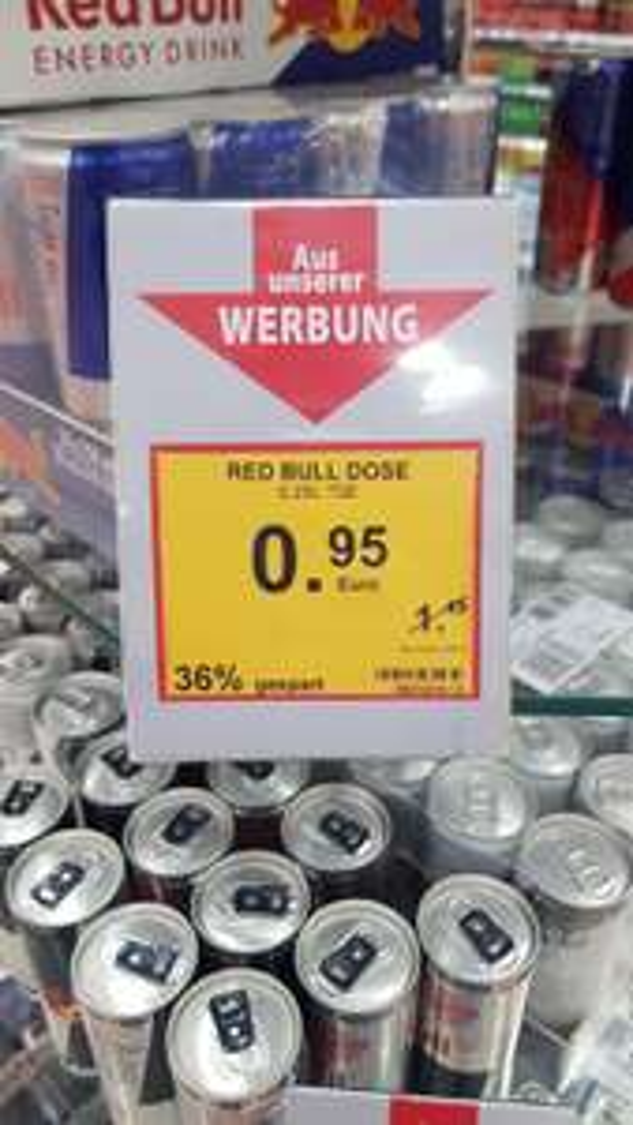 Red Bull 0.95€ im Müller (Ab 1 Stk)