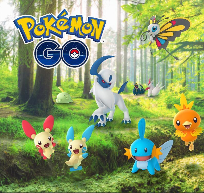 Pokémon Go: (Android / iOS) 3 Fern-Raid-Pässe und vieles mehr gratis zum Machollo Community Day und ab 19.1. Feier der Hoenn Region