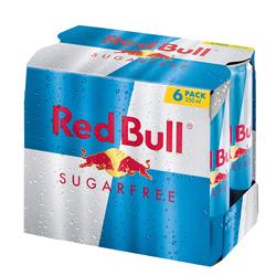 Red Bull Sugarfree 6 Dosen mit Versand 4,50€ | (pro Dose 0,75€) | Pvg: 5,34€ in Aktion