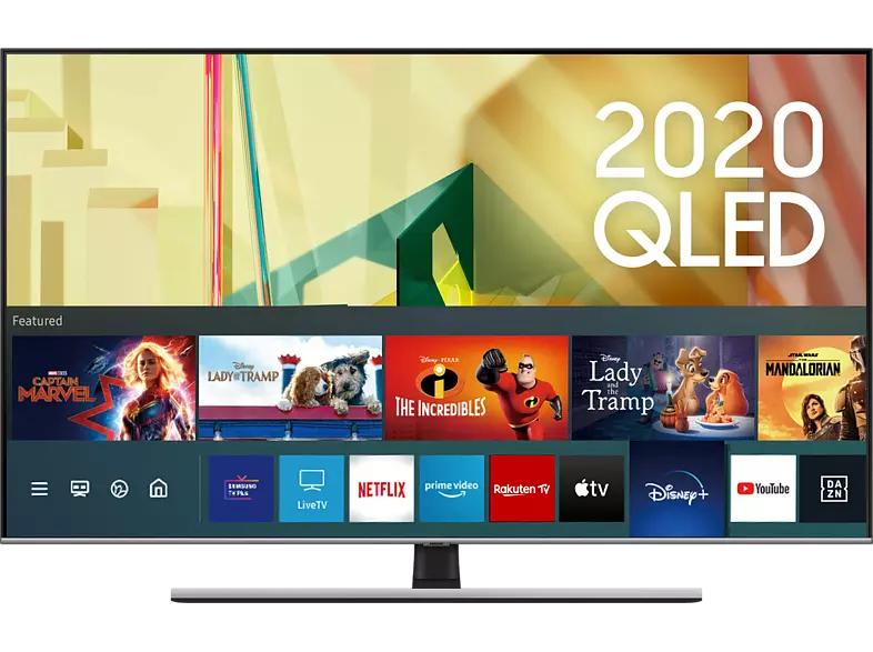 SAMSUNG Q75T (2020) 55 Zoll 4K Smart TV QLED Fernseher