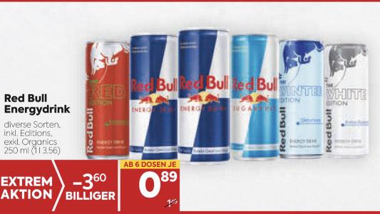 BILLA - Red Bull