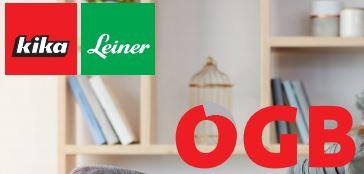 Für ÖGB Mitglieder - Kika Leiner zusätzlich 8% zu Prozentaktionen