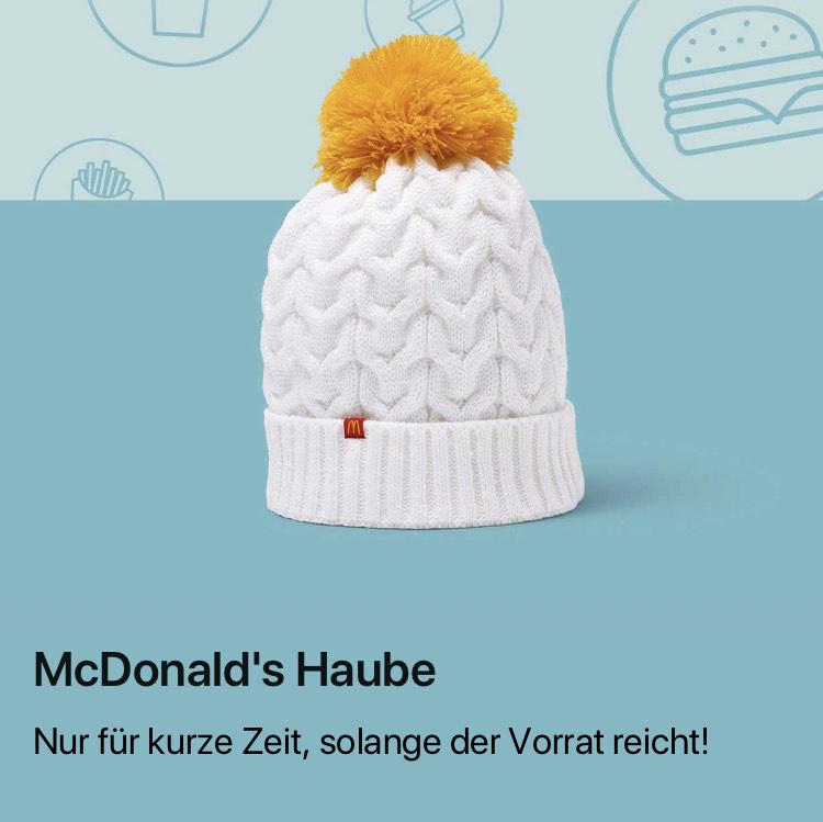 McDonalds . Haube für 20Ms