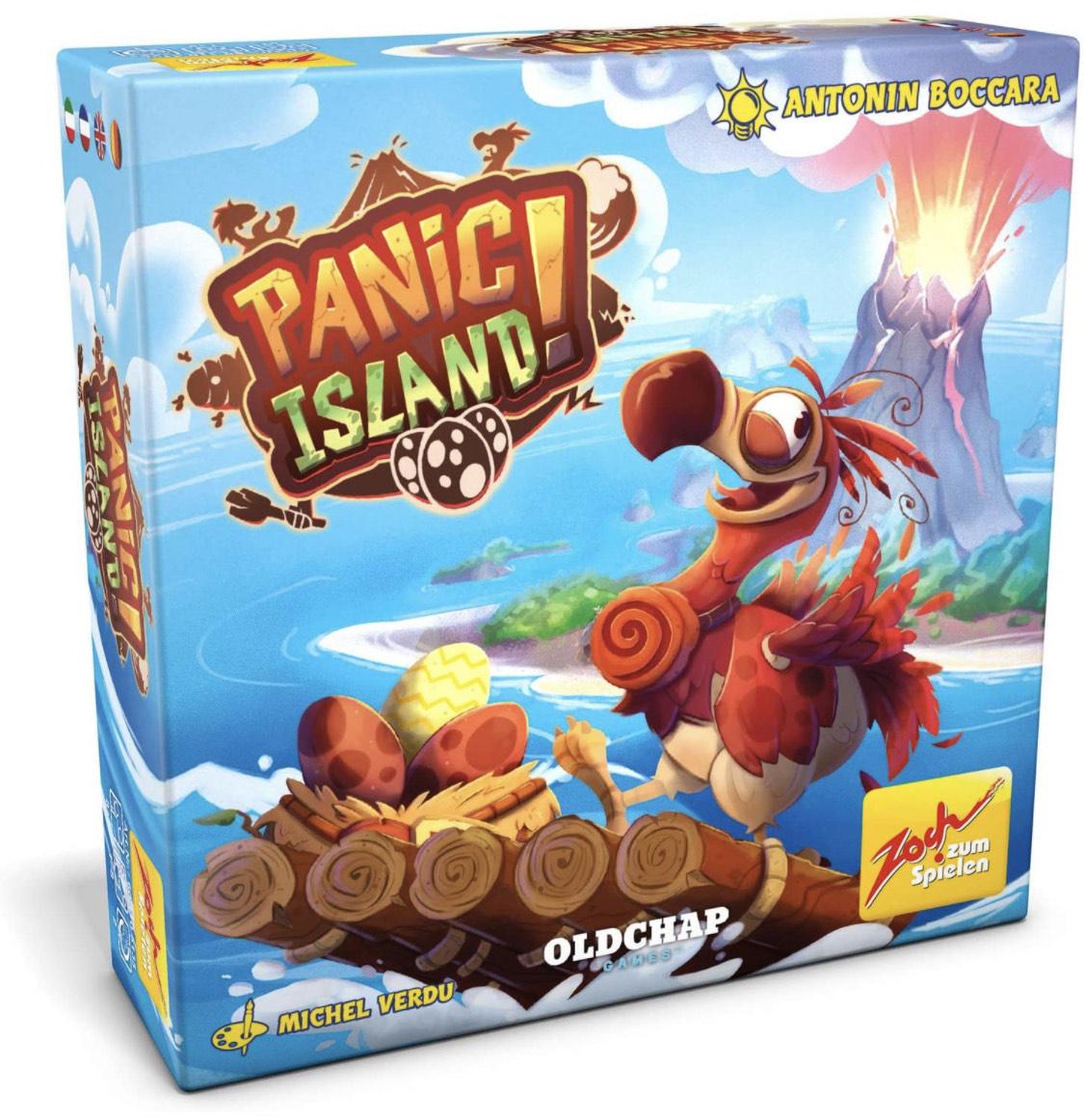 Panic Island, Karten-und Würfelspiel