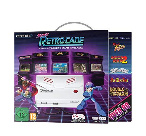 Super Retro-Cade - Retrokonsole mit 90 Spielen und SD-Kartensteckplatz
