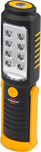 Brennenstuhl LED Taschenlampe mit Batterie (250+100lm, 10h)