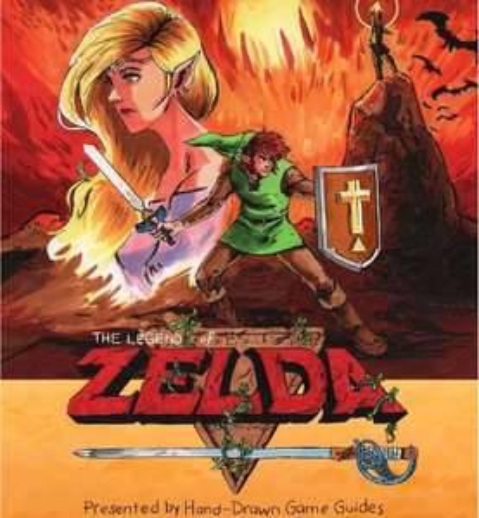 Hand Drawn Game Guide zum 35. Geburtstag von The Legend of Zelda gratis als PDF Download