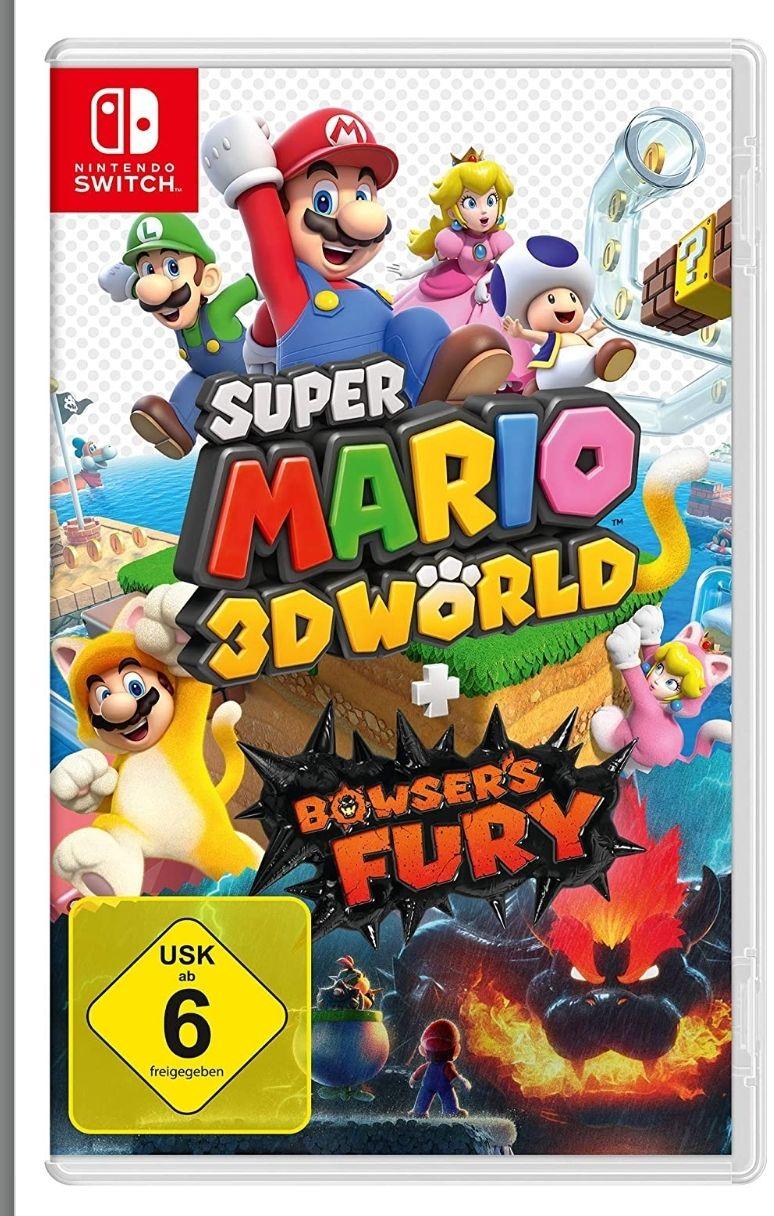 Super Mario 3D World für Nintendo Switch (Amazon)