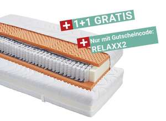 [Möbelix] 11 verschiedene Matratzen Primatex 90x200 und 2 verschiedene Topper 90x200: 2 für 1 inkl. Gratisversand