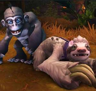 """World of Warcraft®: Bananas Haustier"" + ""Daisy Haustier"" (Windows / Mac PC) gratis holen (bis 1. Aug.21)"