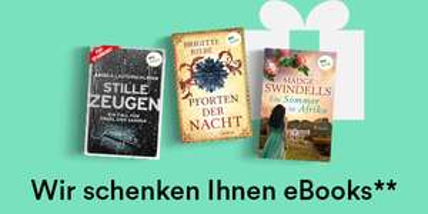 3 E-Books gratis heute