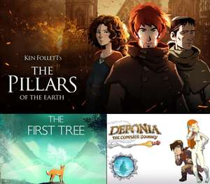 The First Tree, Deponia: The Complete Journey & The Pillars of the Earth