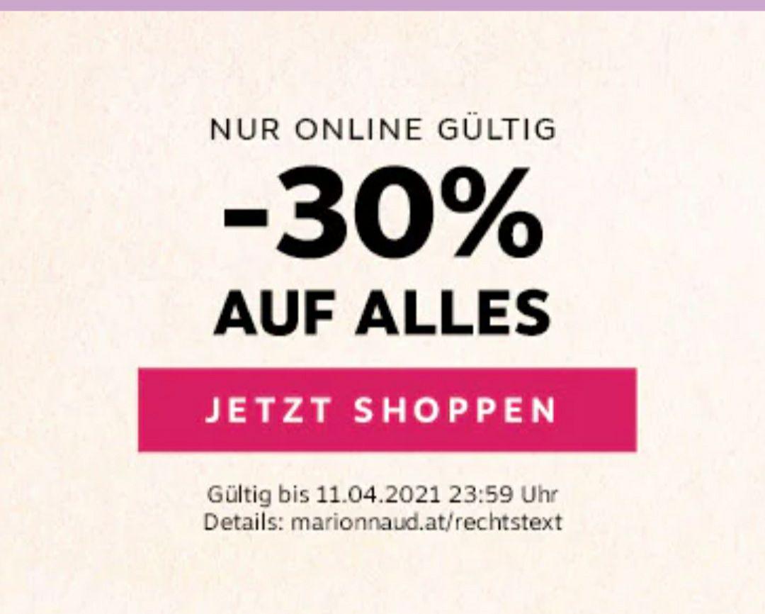 -30% auf ALLES bei Marionnaud