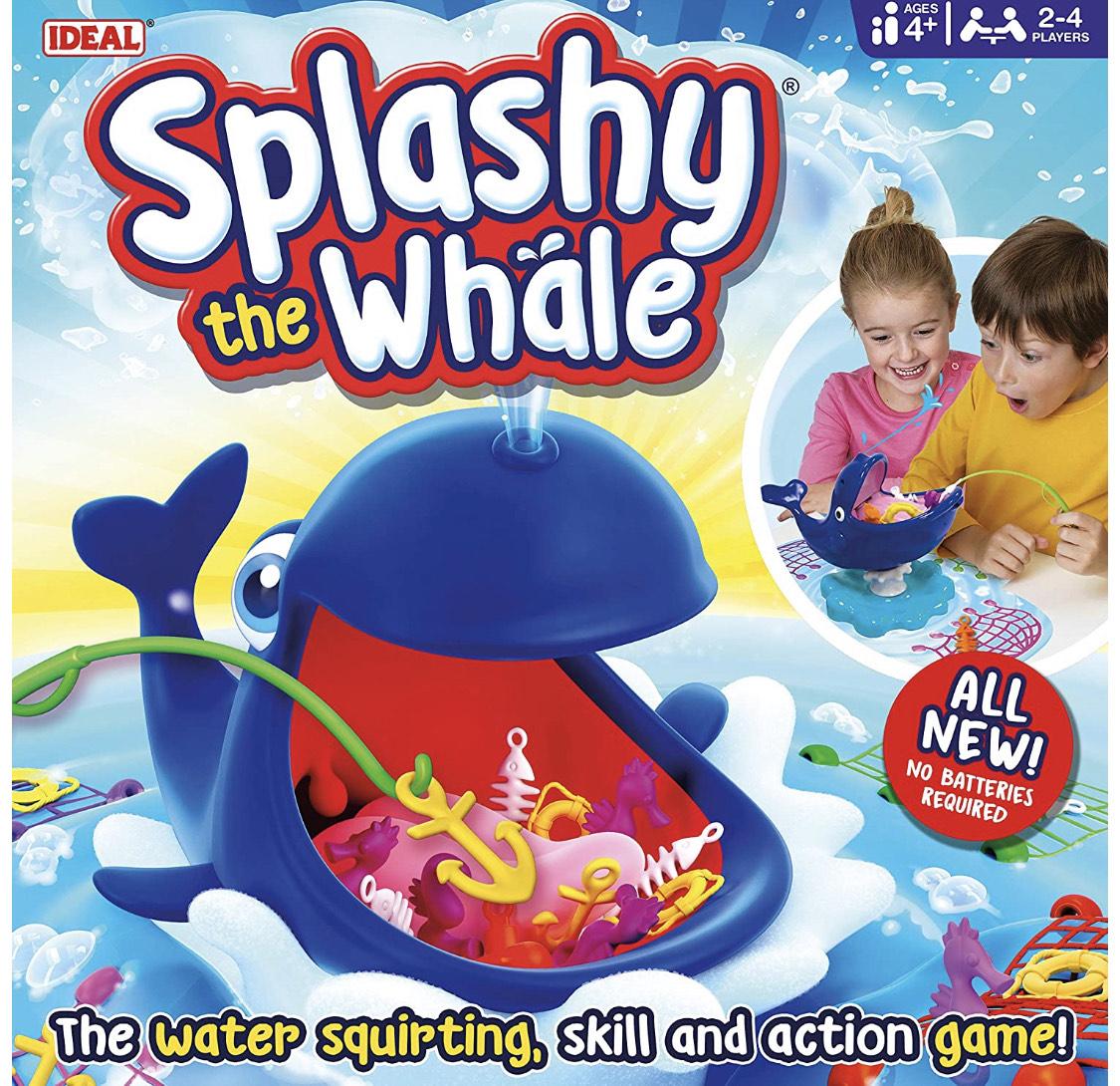 Splashy The Whale Actionspiel (in Englisch)