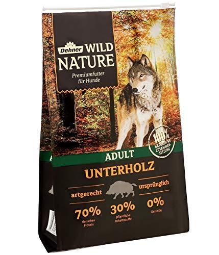 4 kg Dehner Wild Nature Trockenfutter Unterholz Adult