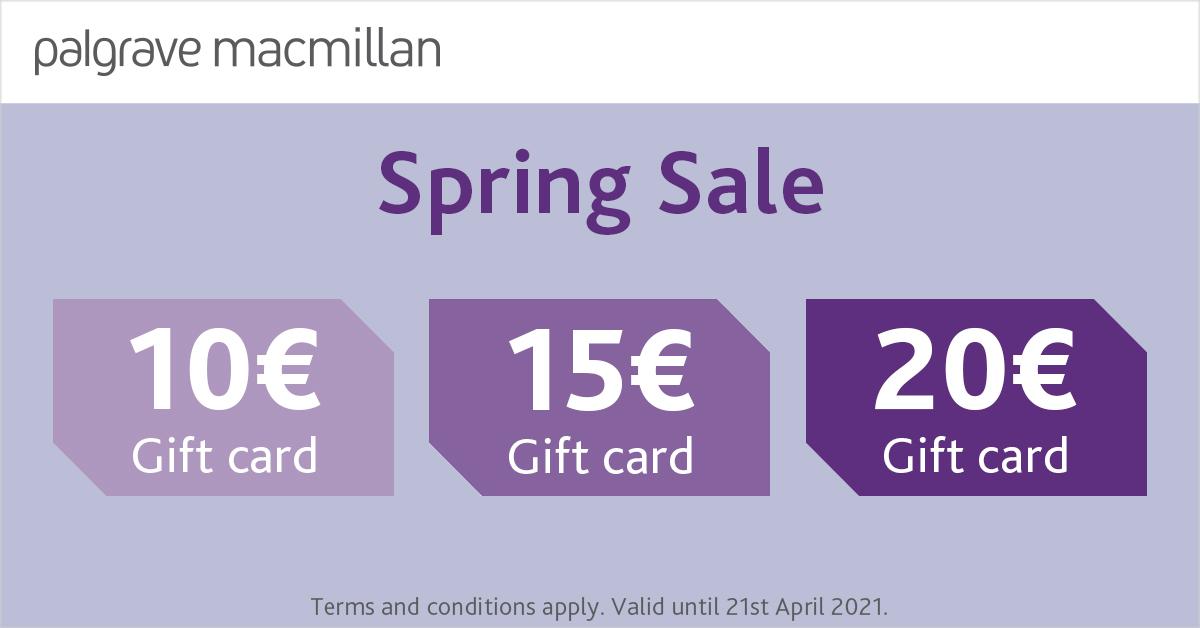 Palgrave Buchshop: 10€/ 15€ / 20€ Rabatt ab 20€ / 30€ / 40€ Bestellwert