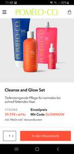 -67% auf Pomelo + Co Cleanse and Glow Set