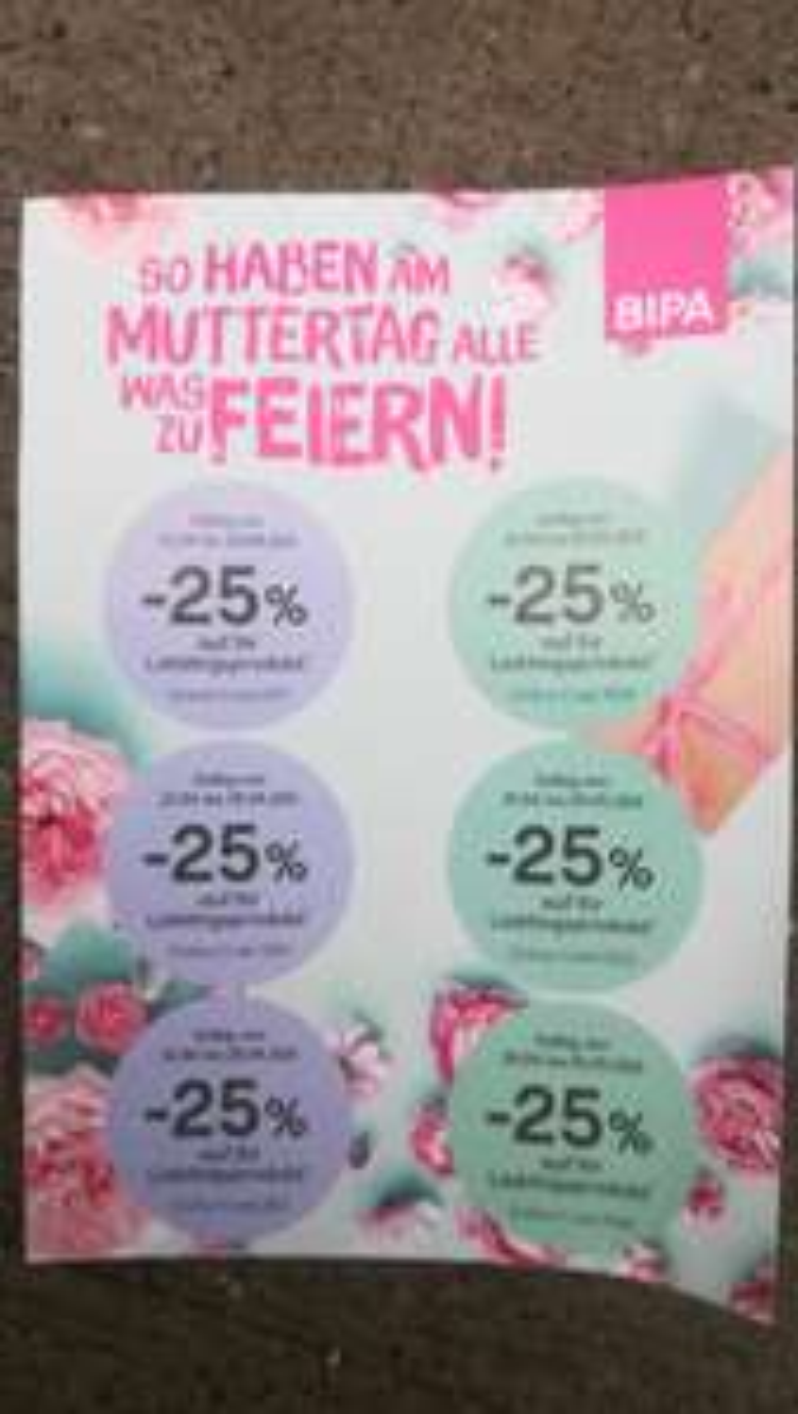 Bipa - 25% Sticker