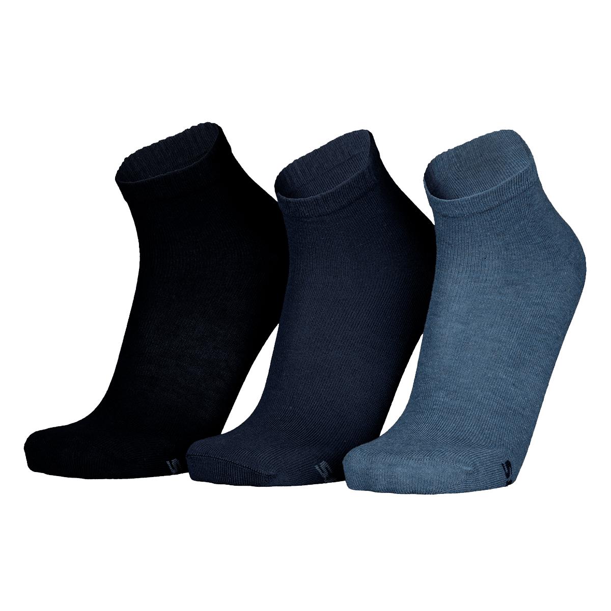 """3x Skechers Damen Socken """"Women Basic Quarter"""""""
