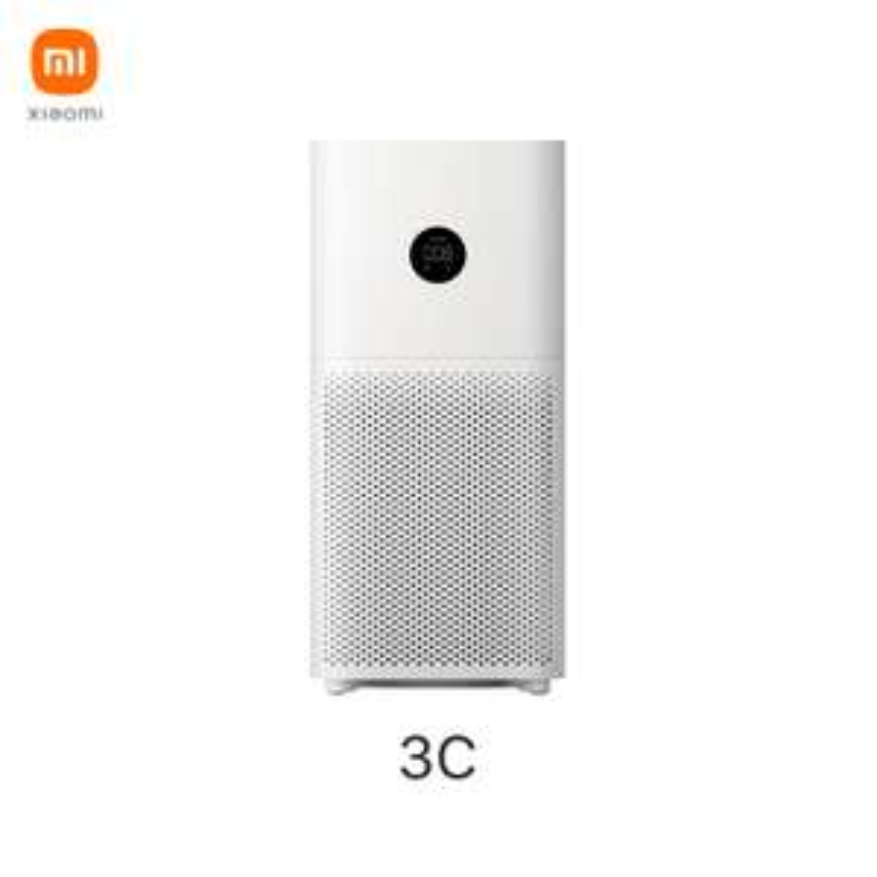 Xiaomi Air Purifier 3C, smarter Luftreiniger mit LED Display, HEPA Filter + aktiv Kohle, gegen Pollen, Hausstaub, Gerüche...Versand aus EU
