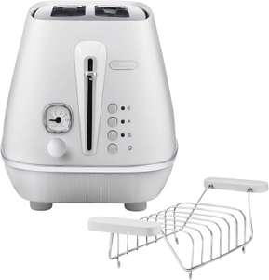 DE LONGHI 2-Schlitz-Toaster CTIN2103.W