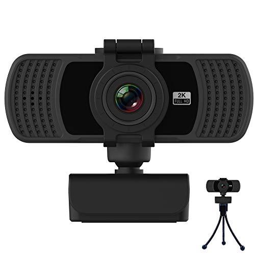 BENEWY Webcam 2K mit Mikrofon