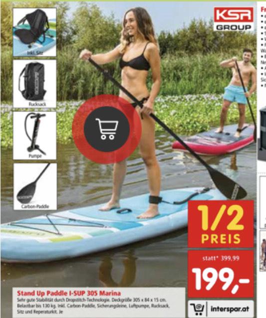 Stand up Paddle 305 Marina Türkis # Interspar #
