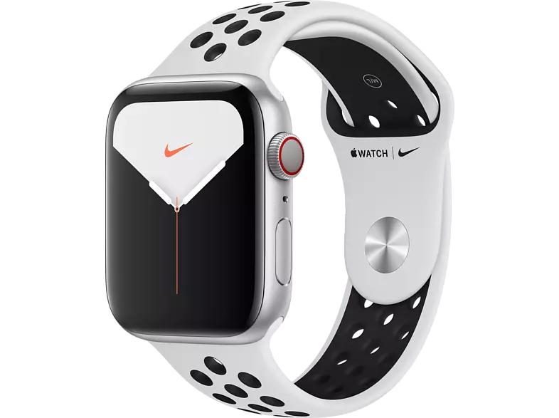 Apple Watch Nike Series 5 (GPS + Cellular) 44mm Aluminium silber
