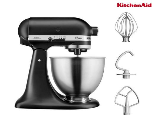KitchenAid Classic 4,3l (mattschwarz) - 5K45SS