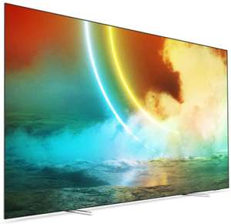 "Philips ""55OLED705"" - 55"" UHD OLED TV mit Ambilight (2021 Modell) - neuer Bestpreis"