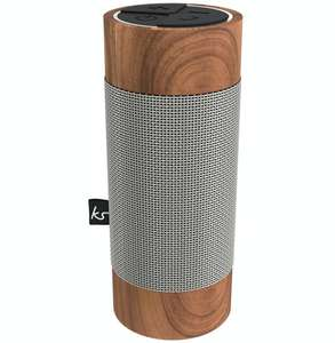 """KitSound """"Diggit Wood"""" Outdoor Bluetooth Lautsprecher - neuer Bestpreis"""