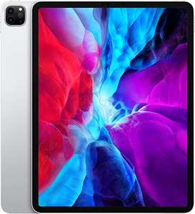 """Apple iPad Pro (12,9"""", 4. Generation, Wi-Fi, 256 GB) - Silber (2020)"""