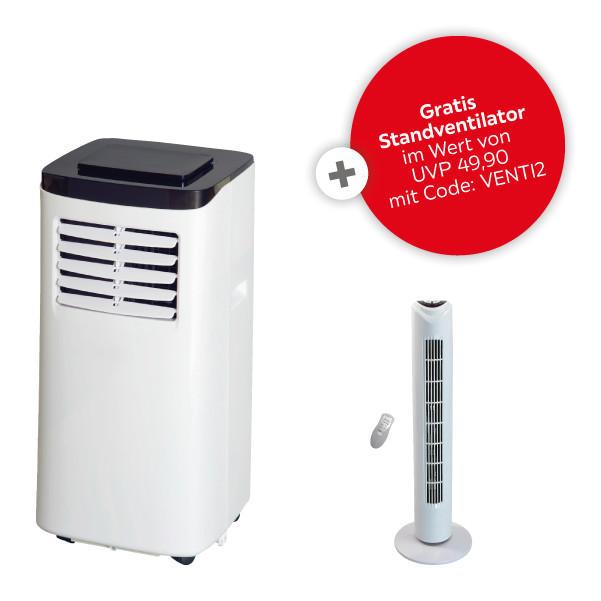"Eycos ""PAC-2255"" WiFi Touch Klimagerät + Standventilator + Gratis Versand"