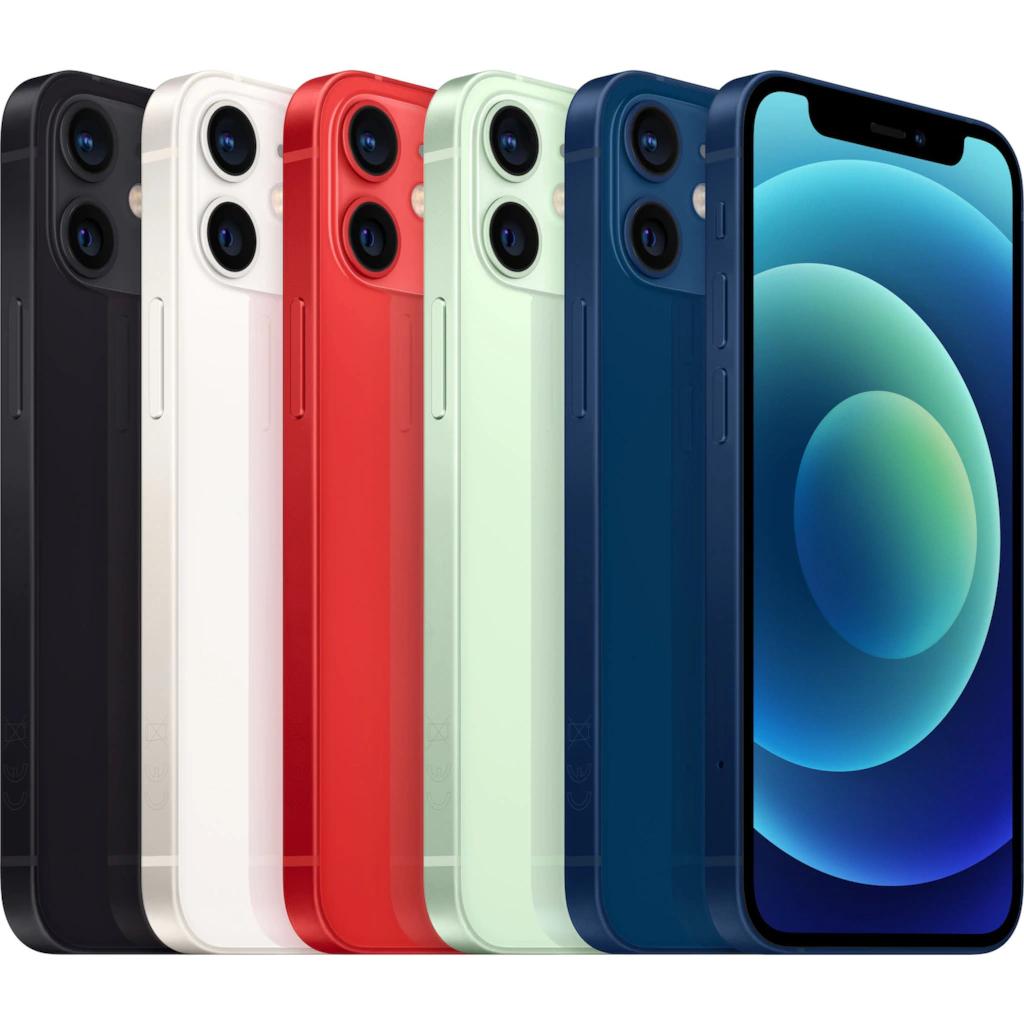 iPhone 12 128GB ab 655,90€ (schwarz), 256GB für 729,90€ - 5 Farben - 3 Jahre XXL Garantie für max. 20€