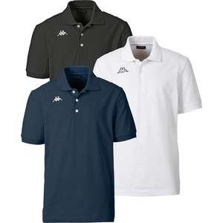 3x Kappa Poloshirts (M-XXXL)