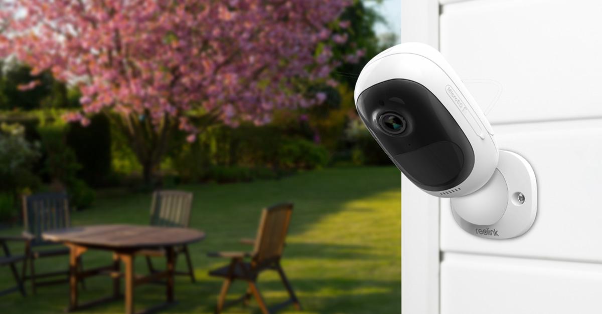 Reolink Argus 2 Akku Full-HD Außen-Überwachungskamera mit Solarpanel