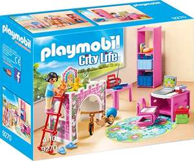 Playmobil City Life 9270 Fröhliches Kinderzimmer