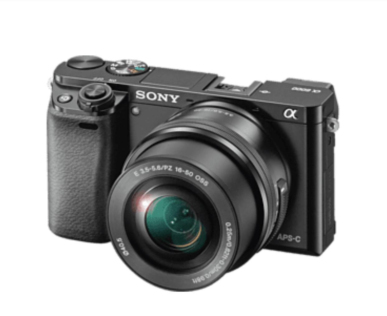 Sony A6000 + Kit Objektiv 16-50mm