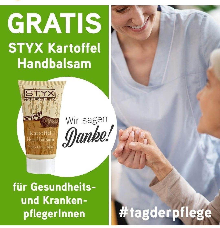 Gratis Handbalsam für Gesundheits-/KrankenpflegerInnen