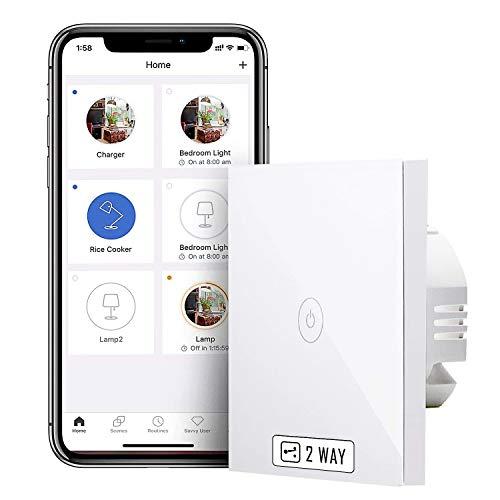 Meross WLAN Smart 2 Wege Lichtschalter
