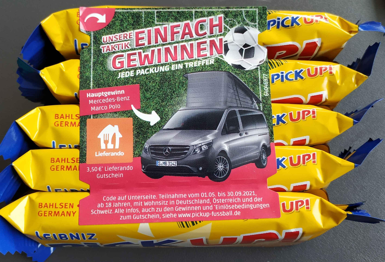 10 PickUps + 2x 3,5€ Lieferando Gutschein um 2 Euro