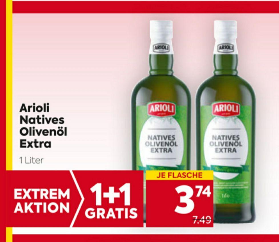 1 Liter Arioli Natives Olivenöl € 3.74