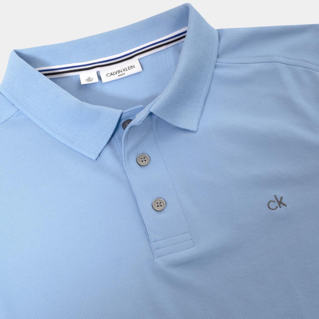 """Calvin Klein """"Campus"""" Herren Golf Polo mit 3 Knöpfen (diverse Farben, alle Größen)"""