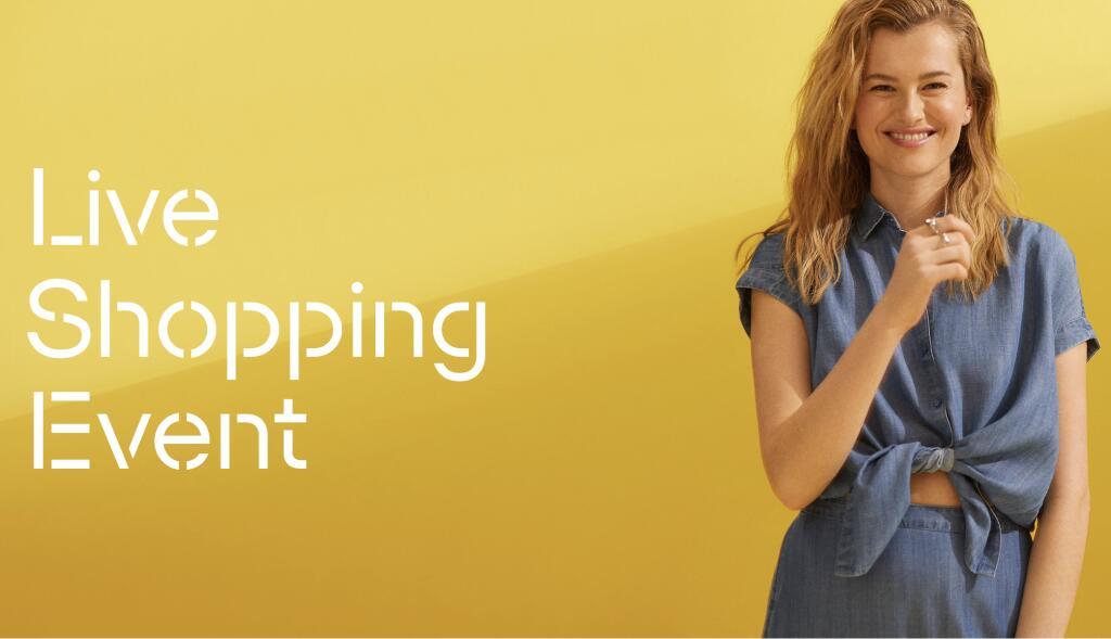 Esprit Live Shopping Event ab heute 20:00 mit 20% Rabatt auf alles
