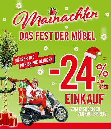 -24% auf den Einkauf