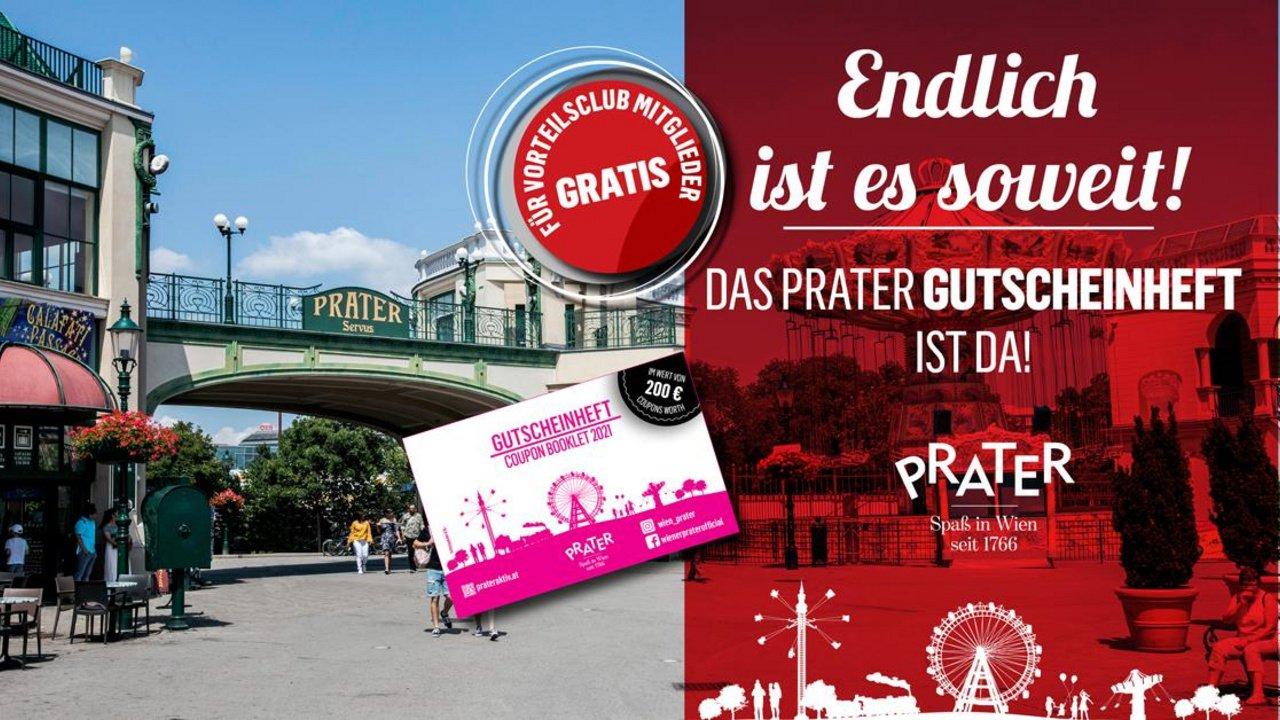 (Stadt Wien Vorteilsclub) 1+1 Gutscheine für Wiener Prater