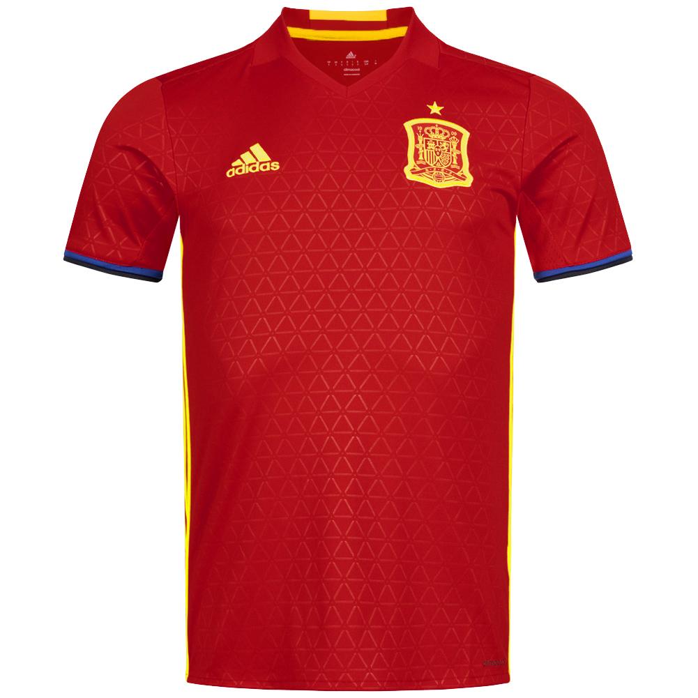 Spanien Adidas Herren Heim Trikot